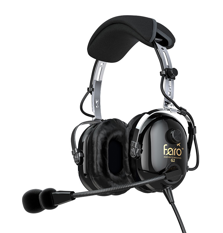 Faro G2 ANR Pilot Headset with Mp3 Input