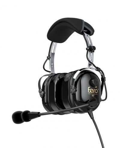 Faro G2 PNR Pilot Headset with Mp3 Input